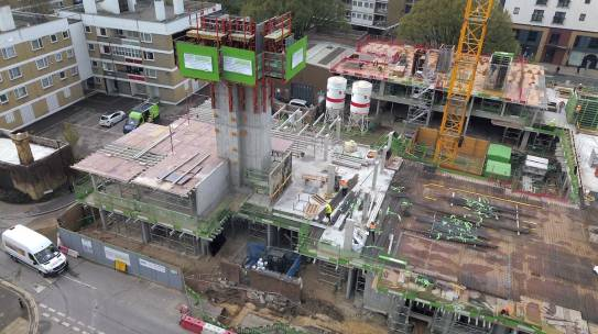 IN PICTURES: Great progress on Southampton East Street development