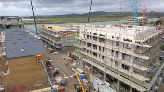 Ropetackle, Shoreham: progress in pictures