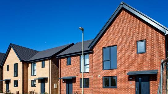 COMPLETED: 20 sustainable & affordable homes in Totton