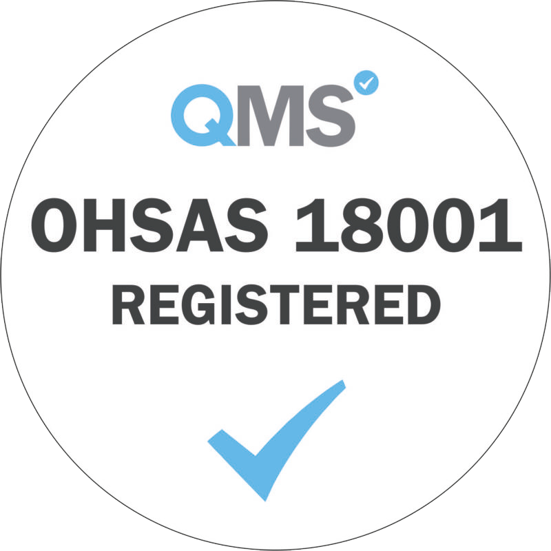 QMS OHSAS 18001 registered