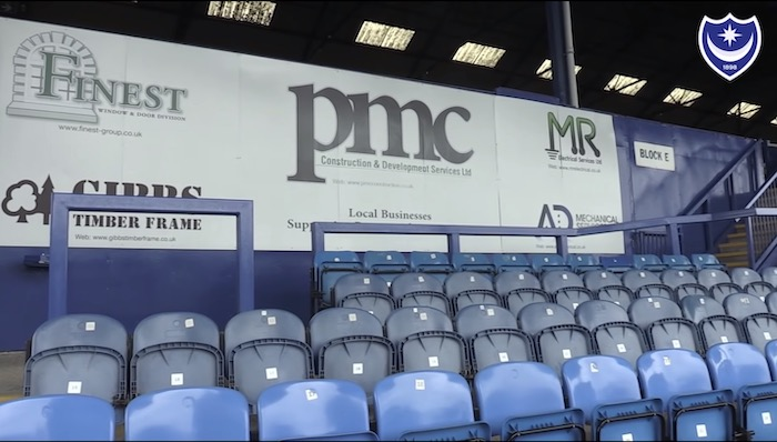 PMC Redevelopment of the Fratton Park ground of Portsmouth FC