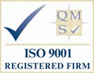 PMC is an ISO 9001 registered firm